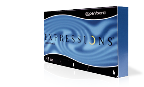 expression contatc lenses by coopervision